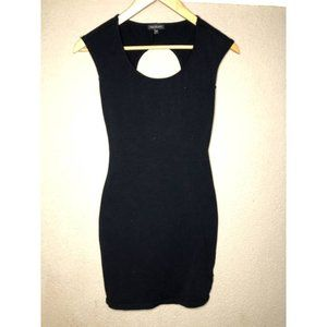 Aritzia Talula Black Dress with Back Opening